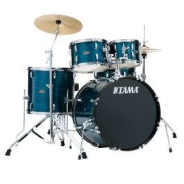 Tama Stagestar 5-Piece Drumkit with Cymbals – Hairline Blue