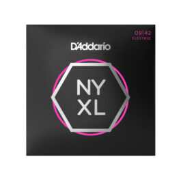 D'Addario NYXL0942 Nickel Wound Super Light Electric Guitar Strings
