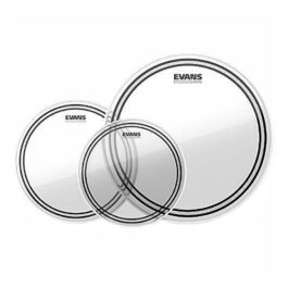 EVANS EC2 Tompack Clear Rock 10,12, and 16 Inch