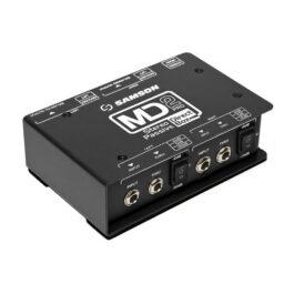 Samson SMax MD2 Pro – Stereo Passive Direct Box