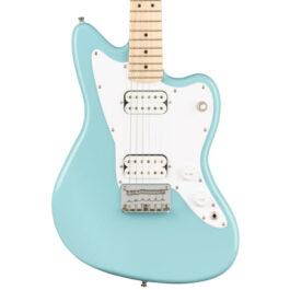 Squier Mini Jazzmaster® Electric Guitar – Daphne Blue