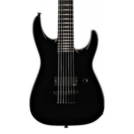 Jackson Christian Olde Wolbers Signature Dinky 7-String Electric Guitar – Black
