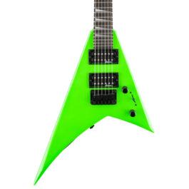 Jackson JS1X RR Minion Electric Guitar – Neon Green