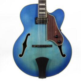 Ibanez AFJ91JLF Artcore Hollow Body Electric Guitar – Jet Blue Burst