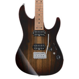 Ibanez AZ242BC-DET Premium Electric Guitar – Deep Espresso Burst
