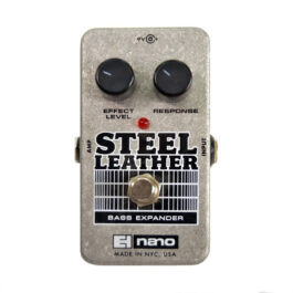 Electro-Harmonix Steel Leather Bass Guitar Attack Expander Effects Pedal