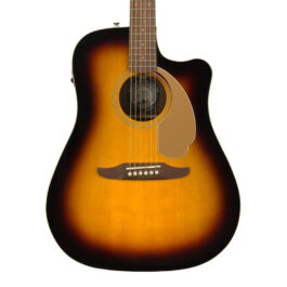 Fender California Series Redondo Player Acoustic in Sunburst