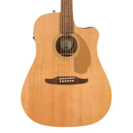 Fender Redondo Player Acoustic-Electric Guitar – Natural