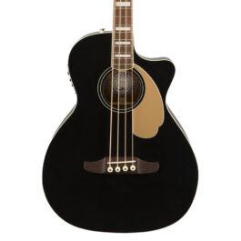 Fender California Series Kingman Bass V2 in Black – with Gig Bag