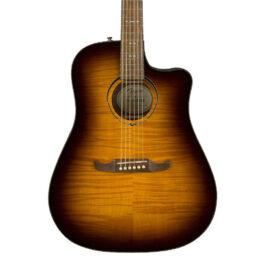 Fender Limited Edition FA-325CE Dreadnought Acoustic Guitar – Mocha Burst
