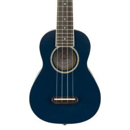 Fender Grace VanderWaal Signature 'Moonlight' Soprano Ukulele – Navy Blue