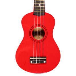 Darestone Soprano Ukulele – Red