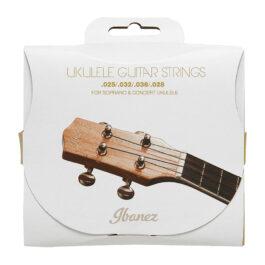 IBANEZ Ibanez IUKS4 Soprano/Concert Ukulele Strings – Black Nylon