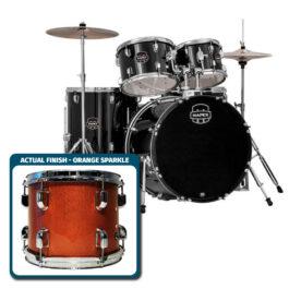 Mapex PDG5254TCFM Prodigy 5pc Standard Drum Kit Orange Sparkle Finish