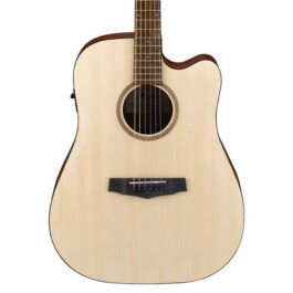 Ibanez PF10CE Acoustic Guitar w/ Pickup – Open Pore Natural