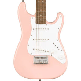 Squier Mini Stratocaster® Electric Guitar – Shell Pink