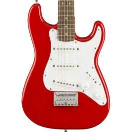 Squier 3/4 Mini Stratocaster® Electric Guitar – Torino Red
