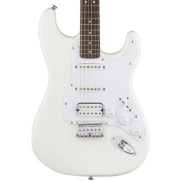 Squier Bullet Stratocaster® HSS Electric Guitar – Hardtail – White