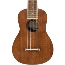 Fender Seaside Soprano Ukulele Pack – Natural