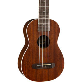 Fender Seaside Soprano Ukulele Pack – Natural