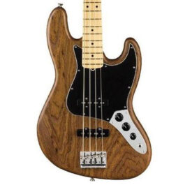 FENDER LTD ED American Professional Jazz Bass – Maple Neck – Natural Roasted Ash