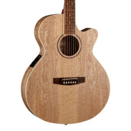 Cort SFX-AB Ash Burl Acoustic Electric Guitar – Natural Ash