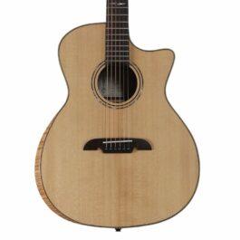 Alvarez AG70WCEAR Grand Auditorium Acoustic-Electric Guitar with Bevel Edge Armrest – Natural Gloss Finish