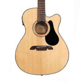 Alvarez AF30CE Artist Series Acoustic Electric Guitar – Natural Satin