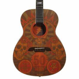 Alvarez AF65GD Grateful Dead 50th Anniversary Montage Acoustic Guitar