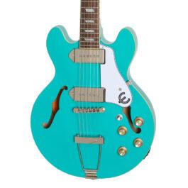 Epiphone Casino Coupe Hollowbody Electric Guitar – Seafoam green