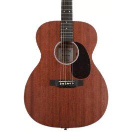 Martin 000-10E Acoustic-Electric Guitar – Natural Satin Sapele