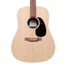 Martin D-X2E X Series Acoustic-Electric Guitar – Natural
