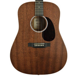 Martin D-10E Road Series Acoustic-Electric Guitar – Natural Sapele