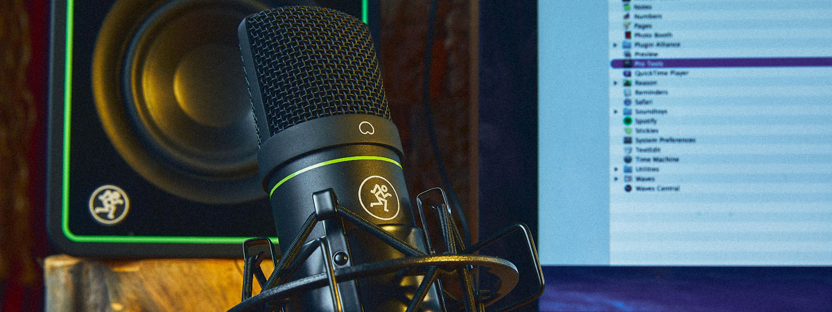Mackie Element Microphones – Level Up Your Mic Game