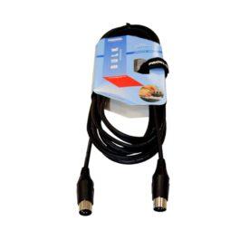 Proel BULK410LU15  5 Pin Din Midi Cable 1.5 Meters