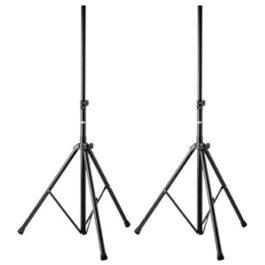 Proel FRE300BK Professional Aluminium Speaker Stand Pair