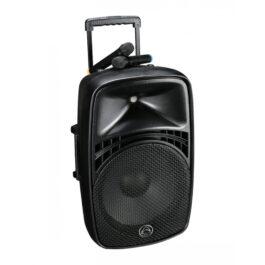 "WHARFEDALE EZ12A Portable 12"" PA Speaker w/ Bluetooth MIcrophones"