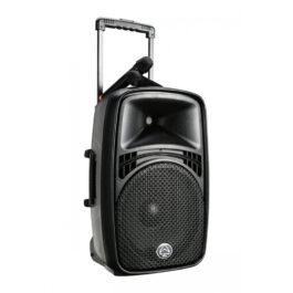 "WHARFEDALE EZ15A Portable 15"" PA Speaker w/ Bluetooth MIcrophones"