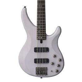 YAMAHA TRBX504 4-String Bass Guitar – Trans White