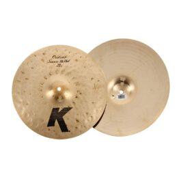 "ZILDJIAN K0993 14"" K Custom Session HiHat Cymbals"