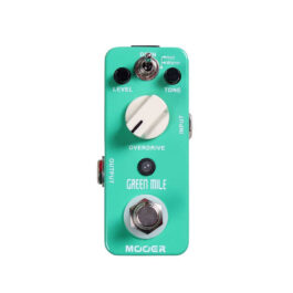 Mooer Audio Green Mile Overdrive Effects Pedal