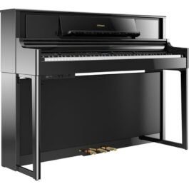 Roland LX705 Upright Digital Piano – Polished Ebony