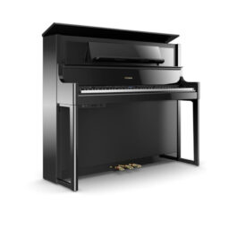 Roland LX708 Upright Digital Piano – Polished Ebony