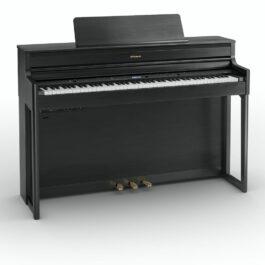 Roland HP704 Digital Piano – Charcoal Black