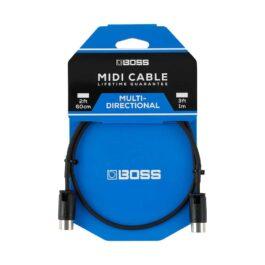 Boss BMIDI-PB1 – 30cm MIDI Cable with Adjustable Cable Angle