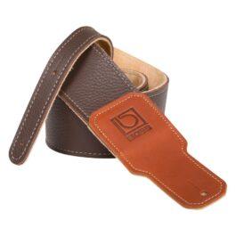 Boss BSL-20 – 2.5″ Premium Leather Guitar Strap – Brown