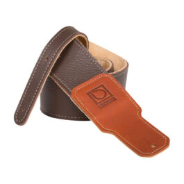 Boss BSL-30 – 3″ Premium Leather Guitar Strap – Brown