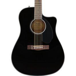 Fender CD-60SCE Acoustic Guitar – Black