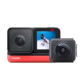 Insta360 ONE R – Twin Edition – 4K + 360 Action Camera
