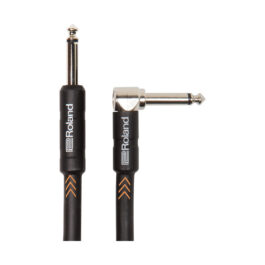 Roland RIC-B5A – 1.5m Straight to Right Angled Black Series Instrument Cable